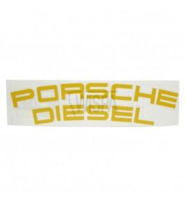 Porsche Diesel Panzitting Sticker